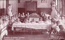 Hawkhurst. Dinner at Babies' Castle. Dr Barnardo's Homes.