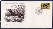 WWF enveloppe 1er jour  Yougoslavie   oiseau  le canard noir