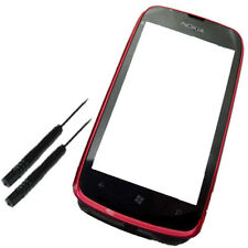 Touch Screen Digitizer Lens With Red Frame for Nokia LUMIA 610