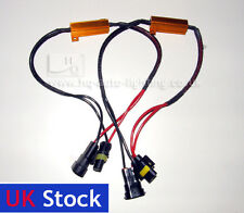 HB4 Resistors Dercoders for LED Car Bulbs NO OBC CanBus ERROR Fix Plug & Play