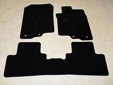 Honda Insight 2010-on Tailored Car mats Black/Blk trim.