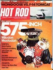 Hot Rod Magazine September 1975 Dick Landy's 575-Inch GD 061716jhe