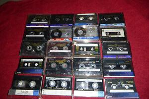 20x Musikkassette TDK Super CDing SA CDing 2 T1 Chromdioxid Cassetten MC Tape