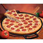 """14"""" Cast Iron Pizza Pan, Skillet Kitchen Cookware Grilling Frying Pan NEW"""
