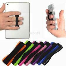 2PCS Finger Strap Elastic Hand Grip Holder For iPhone iPad Samsung Mobile Phone