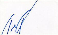 AUTOGRAPHE SUR BRISTOL de Tina TURNER (index card signed in person)