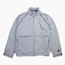 Paul Smith Sport Mens 90s Vintage Nylon Shell Harrington Bomber Jacket XL Grey