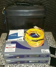 Qty2) Acterna DA-3600A Data Network Analyzers w/Carrying Case & Interface Module