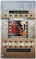 Steelheart by William C. Dietz 1998 Ace Science Fiction Paperback