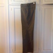 Gray cuffed women's slacks by Banana Republic size 8 cotton/ wool blend