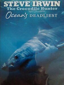 OCEANS DEADLIEST DVD Steve Irwin Crocodile Hunter VGC Freepost