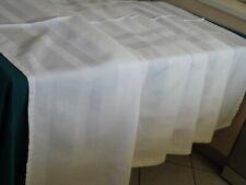 service, 11 serviettes + nappe, damas de fil de lin, ancien