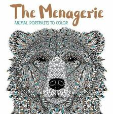 NEW - The Menagerie: Animal Portraits to Color