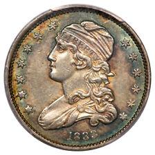 1833 25C Capped Bust Quarter PCGS AU55