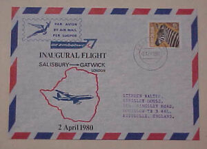 RHODESIA  FLIGHTS SR 1932,RN 1962 , R 1980