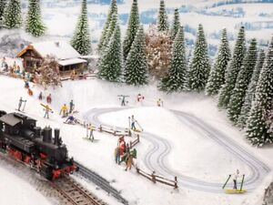 HO Scale Buildings - 66832 - Micro Motion - Cross-Country Ski Trail