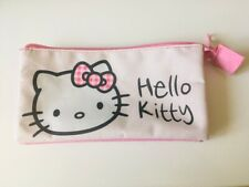 Kawaii Cute Sanrio Hello Kitty Make Up Cosmetic Bag Pencil Case Multi Sections