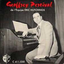 "Geoffrey Percival  de l'Equipe Eric Hutchings - Hammond Organ French 45 7"" EP"
