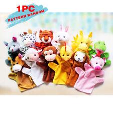 12 Styles Animal Wildlife Hand Glove Puppet Soft Plush Puppets Kid Childrens Toy