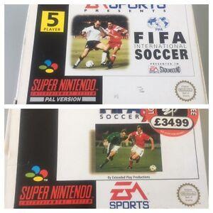 2 X Super Nintendo SNES Games
