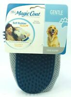 Four Paws Magic Coat Love Glove Soft Rubber Nubs Gentle for All Coats Blue