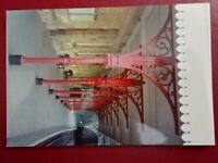 PHOTO  CROMFORD RAILWAY STATION VIEW ALONG PLATFORM