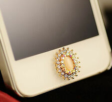 Home Button Sticker For iPhone 6SPlus 6S 6 6Plus 5 5S 5C 4 4S i Pad 2 3 4 5 Opal
