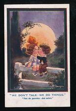 Artist FRED SPURGIN Romance Comic Wee Mites Inter-Art #478 Children PPC