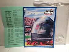 2006 NASCAR Daytona 500 Official Program in Plastic Sleeve