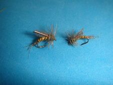 FLY FISHING FLIES - CRIPPLE BWO (Dry Emerger) size #22 (6 pcs.