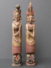 Couple Insépérable en bois sculpté, BALI