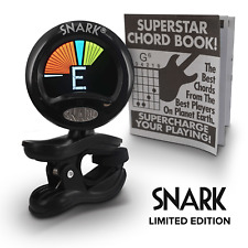 More details for snark sn5x limited edition - guitar, bass & violin tuner - comes with chord book