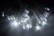Lichterkette 30 LED Kaltweiß Batterie Timerfunktion für Außen geeignetKV