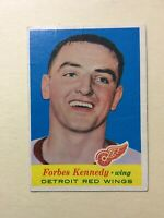 1957-58 Topps #50 FORBES KENNEDY ROOKIE CARD (RC) ~ VG