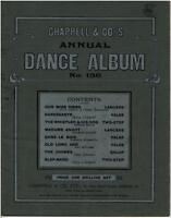 Chappell & Co's ANNUAL DANCE ALBUM No. 156 Sheet Music Book © 1909 - 48 pages