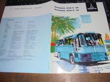 Prospekt Sales Brochure Magirus Deutz 150 R 10 Bus Reisebus Omnibus