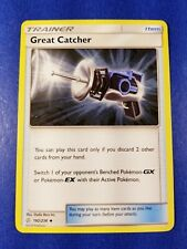 Great Catcher 192/236 Cosmic Eclipse UNCOMMON Pokemon Card NEAR MINT