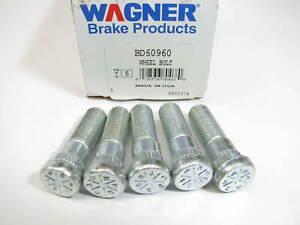 (5) Wagner BD60960 Wheel Lug Studs - Front