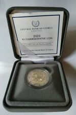 Coffret Set 2 euro BE Proof PP Chypre Cyprus 2020 Institute of Neurology Genetic