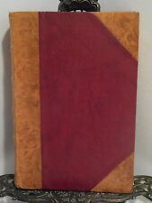 LEATHER 1956 The Masters and Slaves G Freyre Brazil Plantation Slavery Fold-Out