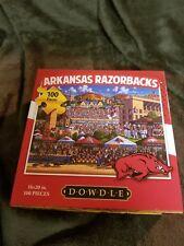 DOWDLE PUZZLES.  ERIC DOWDLE. UNIVERSITY OF ARKANSAS.  RAZORBACK. DOWDLE FOLKART