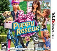 NINTENDO 3DS GAME BARBIE AND HER SISTERS PUPPY RESCUE NEW SEALED