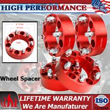 "4pcs 2"" Wheel Spacer Adapters 6x5.5 for Chevy Silverado Tahoe Suburban GMC C2500"