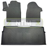 Premium-3D-TPE-Gummifußmatten für Mercedes Vito Tourer Langversion Lang W447 K1A