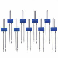 12PCS Sewing Machine Needles Double Machine Pins Needles Kit for Store Home