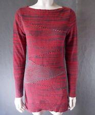 Womens sz M Armani Exchange Wool Blend Sweater shirt s34-bb16