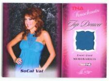 """SOCAL VAL """"MEMORABILIA CARD #02/10"""" TNA KNOCKOUTS"""