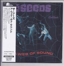 THE SEEDS A Web Of Sound Japon MINI LP CD papersleeve CD hyca - 2033 SEALED NEW