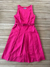 Classiques Entier Sleeveless cut-out back fit & flare dress sz 6P