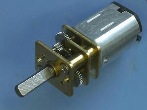 6V  300 U//min Mini Getriebemotor Micro Getriebemotor für Modellbau 1:14 1:16 RC